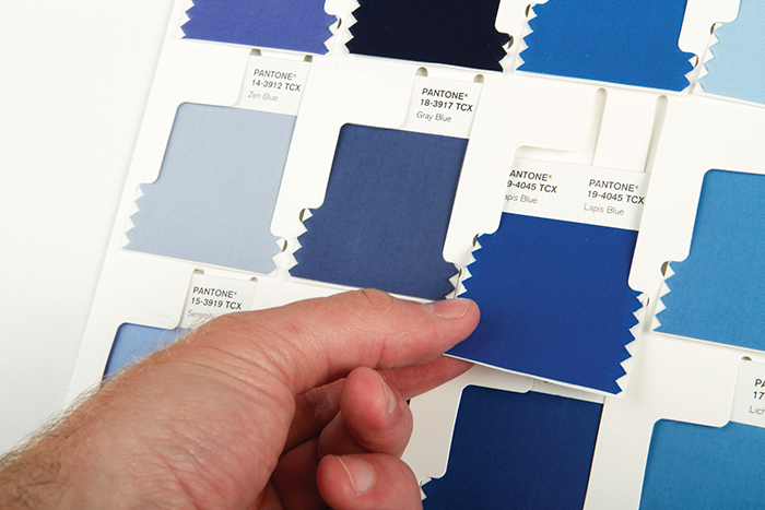 PANTONE FASHION, HOME + INTERIORS Cotton Swatch Library Supplement コットン ...